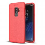 For Samsung Galaxy S9+ Litchi Texture Soft TPU Anti-skip Protective Cover Back Case, Small Quantity Recommended Before Samsung G