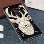 For Samsung Galaxy S9+ Noctilucent Deer Pattern TPU Soft Back Case Protective Cover, Small Quantity Recommended Before Samsung G