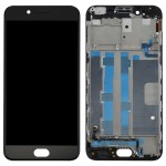 iPartsBuy OPPO R9s LCD Screen (TFT) + Touch Screen Digitizer Assembly with Frame(Black)