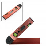 Digital LCD Display Angle Meter with Spirit Level