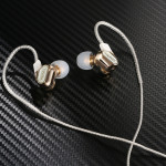 REMAX Multi-function Dual Moving Coil 3.5mm In-Ear Wired Music Earphone with Wire Control & MIC, For iPad, Laptop, iPhone, Samsu