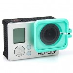 TMC Lens Anti-exposure Protective Hood for GoPro Hero 4 / 3+(Green)