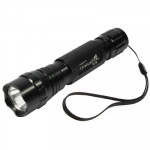 Uranus Fire 501B 1 LED Portable Flashlight(Black)