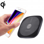 5V 1A Universal Square Fast Qi Standard Wireless Charger with Indicator Light, For iPhone X & 8 & 8 Plus, Galaxy, Huawei, Xiaomi