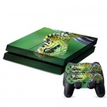 Pour PS4 Playstation 4 Console de jeux Snake Pattern Decal Stickers ACH-381620 - Wewoo