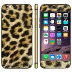 Leopard Pattern Mobile Phone Decal Stickers for iPhone 6 & 6S