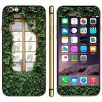 Window Pattern Mobile Phone Decal Stickers for iPhone 6 & 6S