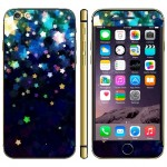 Star Pattern Mobile Phone Decal Stickers for iPhone 6 Plus & 6S Plus