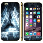 Triangle Pattern Three-dimension Style Mobile Phone Decal Stickers for iPhone 6 Plus & 6S Plus