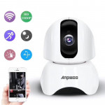 Anpwoo-YT003 200W 3.6mm Lens Wide Angle 1080P Smart WIFI Monitor Camera , Support Night Vision & TF Card Expansion Storage, EU P