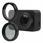 For Xiaomi Mijia Small Camera 38mm UV Protection + ND Dimmer Lens Filter (Black)