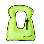 Children Portable Snorkeling Buoyancy Inflatable Vest Life Jacket Swimming Equipment, Size:510*400mm (Green)