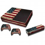 US Flag Pattern Decal Stickers for Xbox One Game Console