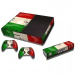 Kuwait Flag Pattern Decal Stickers for Xbox One Game Console