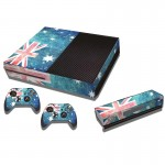 Australian Flag Pattern Decal Stickers for Xbox One Game Console