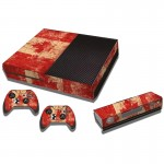 Canadian Flag Pattern Decal Stickers for Xbox One Game Console