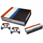French Flag Pattern Decal Stickers for Xbox One Game Console