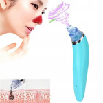 5W 1A Multi-function Blackhead Extractor Pore Cleanser with Four Probes (Blue)