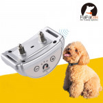 PD258 Automatic Anti Barking Collar Pet Training Control System for Dogs, S Size(Silver)