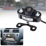 E400 Waterproof 2 LED Color CMOS/CCD Auto Car Rear View Camera for Security Backup Parking