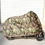 190T Polyester Taffeta All Season Waterproof Sun Motorcycle Mountain Bike Cover Dust & Anti-UV Outdoor Camouflage Bicycle Protec