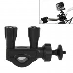 Fixation guidon GoPro Tige de selle Pole Bike Mount Moto Vélo Clamp 4/3 + / 3/2/1 Mini caméra DV - wewoo.fr