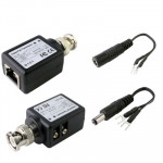 Video Balun CCTV Twisted Pair Passif Transceiver vidéo - wewoo.fr