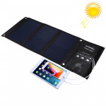 HAWEEL 21W Foldable Solar Panel Charger with Dual USB Ports