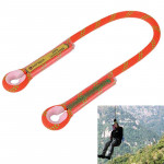Safety Outdoor Rock Climbing Rappelling Mountaineering Fall Protection Rope, Length: 60cm