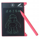 CHUYI 4.4 inch LCD Writing Tablet Portable Electronic Writing Drawing Board Doodle Pads with Stylus for Home School Office(Pink)