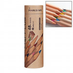 Kids Adults Sketch Coloring Books Drawing Vibrant Colors 48-color Wooden Colored Pencils Set