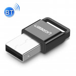 UGREEN USB 2.0 Bluetooth Adapter APTX Bluetooth V4.0 Dongle Audio Receiver Bluetooth Transmitter for PC, Transmission Distance: