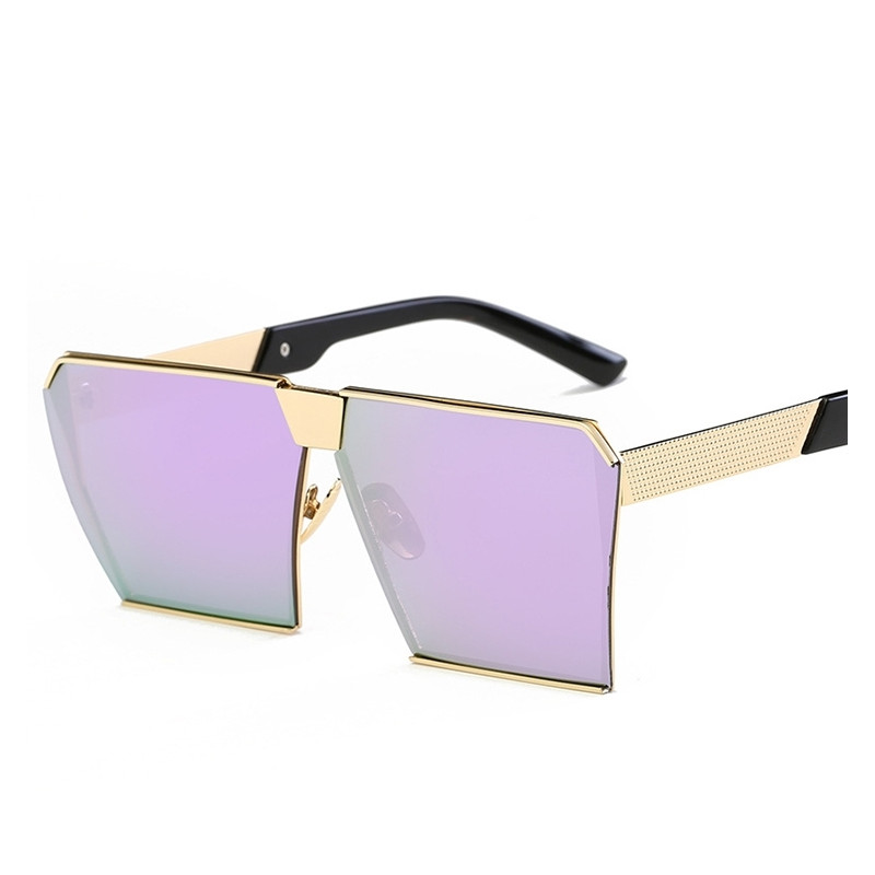 0de71c1929 Vintage Metal Frame UV400 Sunglasses for Men Women - Wewoo