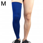 Professional Outdoor Sports Basketball Football Knee Pads Warm Compression Leg Protectors(Blue Size: M)