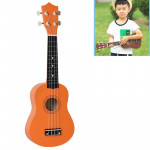 Orange Ukulele Enfants Musical Instrument d'Illumination - Wewoo