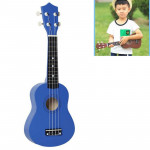 HM100 21 inch Basswood Ukulele Children Musical Enlightenment Instrument (Blue)