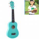 HM100 21 inch Basswood Ukulele Children Musical Enlightenment Instrument (Mint Green)