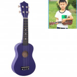HM100 21 inch Basswood Ukulele Children Musical Enlightenment Instrument(Dark Purple)