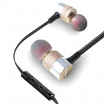 awei ES-20TY TPE In-ear Wire Control Earphone with Mic, For iPhone, iPad, Galaxy, Huawei, Xiaomi, LG, HTC and Other Smartphones