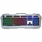 iMICE AK-400 USB Interface 104 Keys Wired Colorful Backlight Gaming Keyboard for Computer PC Laptop(Grey)