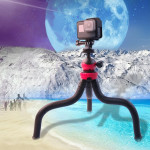 Mini Octopus Flexible Tripod Holder for GoPro HERO6 /5 /5 Session /4 Session /4 /3+ /3 /2 /1, Xiaoyi and Other Action Cameras