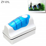 ZY-01L Aquarium Fish Tank Suspended Magnetic Cleaner Brush Cleaning Tools, L, Size: 10.5*7.4*5.5cm