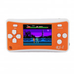 RS-1 Retro Portable Handheld Game Console, 2.5 inch 8 Bits True Color LCD, Built-in 152 Kinds Games(Orange)