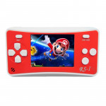 RS-1 Retro Portable Handheld Game Console, 2.5 inch 8 Bits True Color LCD, Built-in 152 Kinds Games(Red)