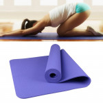 6mm Thickness Eco-friendly TPE Anti-skid Home Exercise Yoga Mat, Size:183*61cm(Purple)