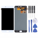 LCD Screen and Digitizer Full Assembly for OPPO R9(White)