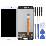 LCD Screen and Digitizer Full Assembly for OPPO A77(White)
