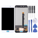 LCD Screen and Digitizer Full Assembly for OPPO R9sk(White)