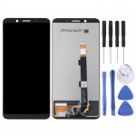 LCD Screen and Digitizer Full Assembly for OPPO A73(Black)