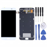 OEM LCD Screen and Digitizer Full Assembly for Vivo X9 Plus(White)